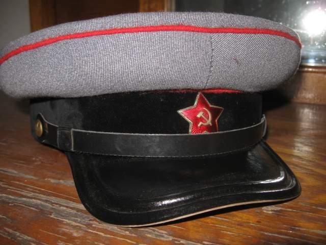 Pre-war parade tankman commander visor hat 039d4f10b32d