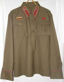 M1935 Red Army infantry private Gimnasterka