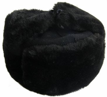 Civilian Ushanka Type 7 Black
