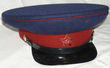 WW2 Russian NKVD visor hat